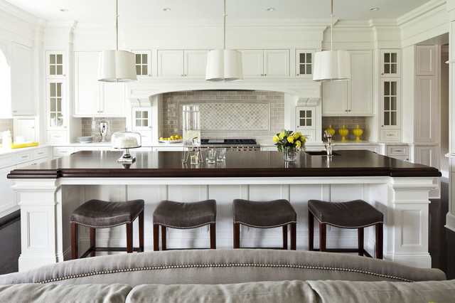 large transitional open concept kitchen inspiration   large transitional l shaped painted wood floor open 12x14 kitchen ideas  u0026 photos   houzz  rh   houzz com