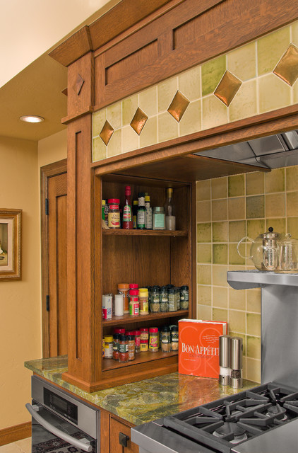 Parrish Kitchen - Craftsman - Kitchen - other metro - by Jay Rambo Co.