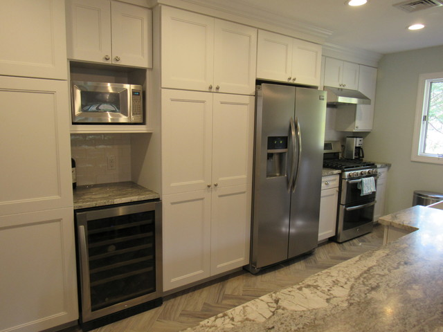 Parsippany nj updated galley kitchen for Updated galley kitchen photos