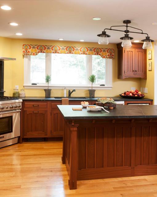 Pasadena Arts & Crafts Custom Kitchen - Craftsman ...