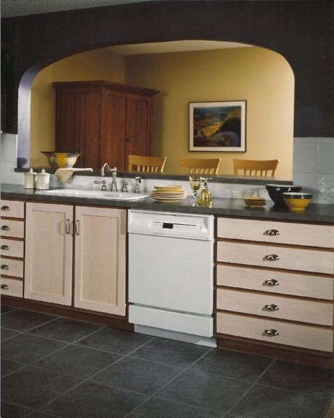Pass Through Traditional Kitchen Other Metro By Kitchen Concepts Inc