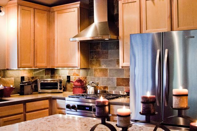 Patio home remodel contemporary kitchen denver by for Colorado kitchen designs llc
