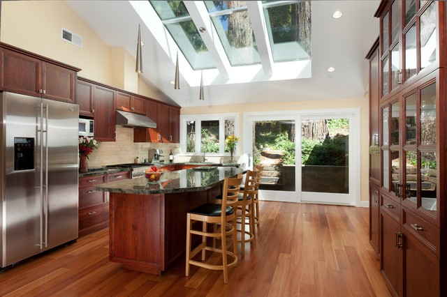 Patrick Le Pelch Architecture - Mill Valley traditional-kitchen