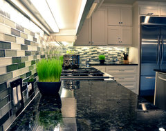 Paul & Suzy's Kitchen & Dining Remodel contemporary-kitchen