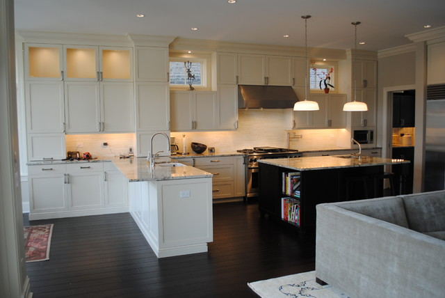 Paulina Private Residence Chicago craftsman-kitchen