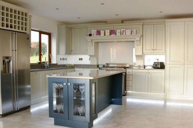 Pavillion Grey And Hague Blue Kitchen Contemporary