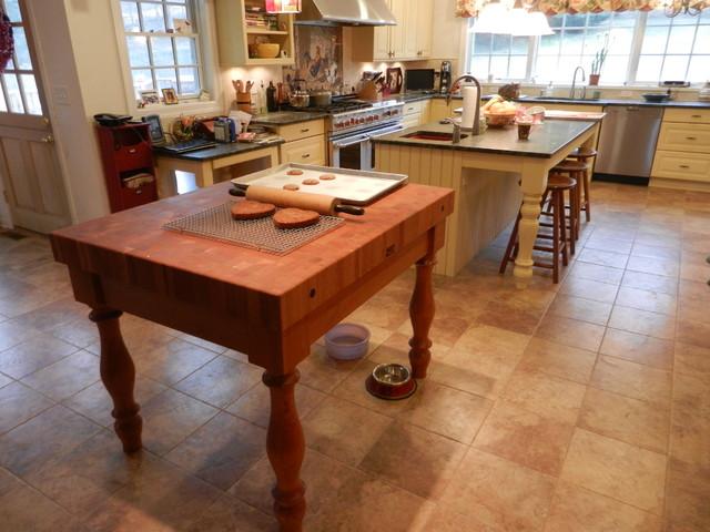 Pawling House Renovation traditional-kitchen