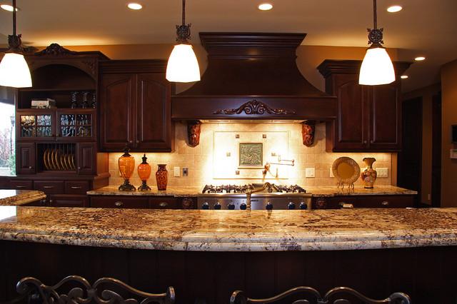 interior/ Kitchen/ Lighting/ Backsplash/