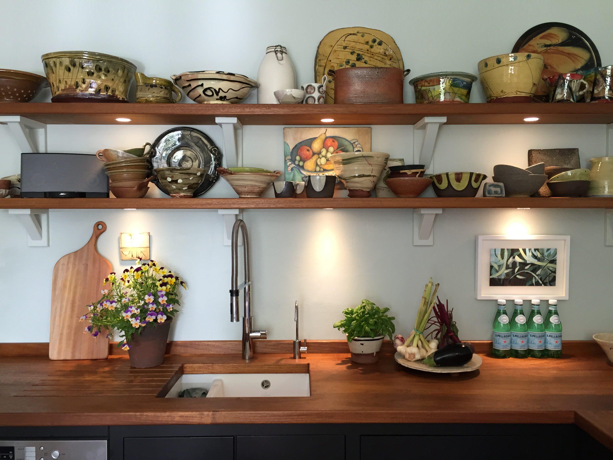 Peak District cottage kitchen diner