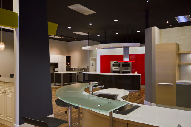 Pedini And Crystal Showroom In Bay Area Contemporary Kitchen San Francisco By Artistic