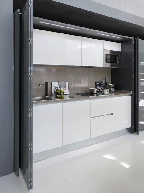 Pedini System Pocket Door Kitchen