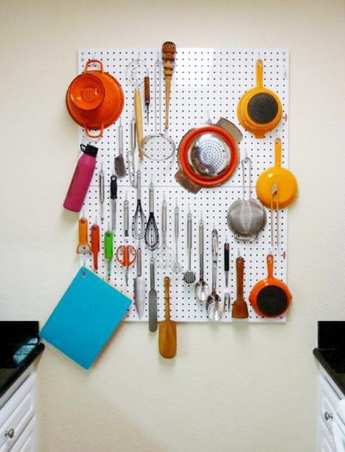Delightful PegBoard X2™ Contemporary Kitchen