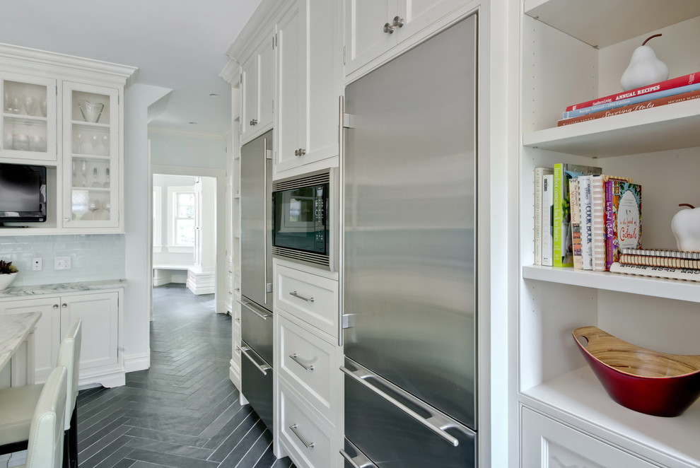 Pelham Shingle Style For A Modern Family Victorian Kitchen New York By Fivecat Studio Architecture