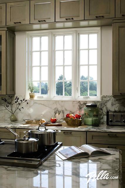 pella casement windows designer series pella architect series casement windows traditionalkitchen traditional kitchen