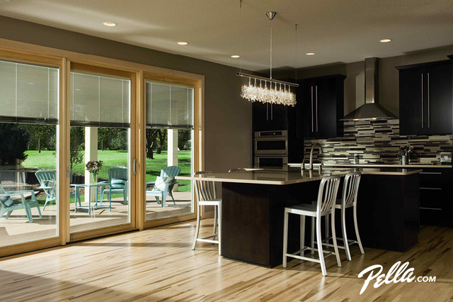 kitchen designs with patio doors pella 174 designer series 174 patio door transitional 440