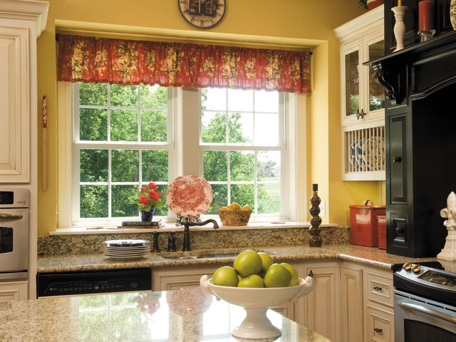 Kitchen Double Hung Windows : Pella impervia double hung windows traditional