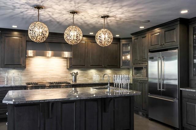 pendant lighting style kitchen new york by