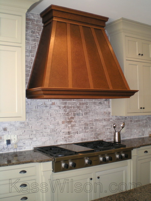 Beau Pennies From Heaven . . . A Faux Copper Vent Hood. Farmhouse Kitchen