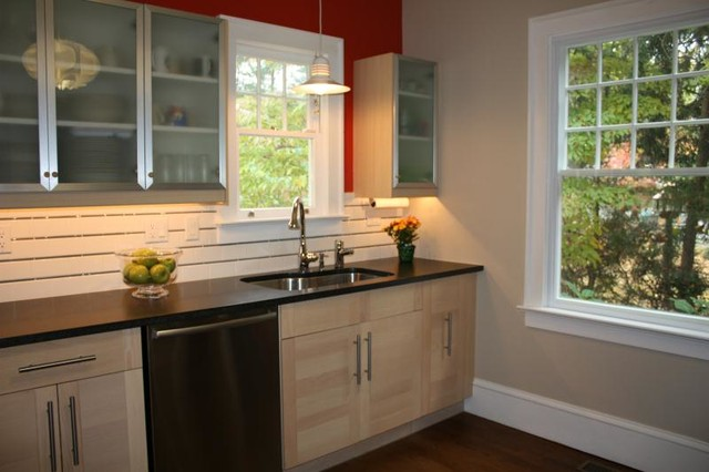 Pennington Four-Square transitional-kitchen
