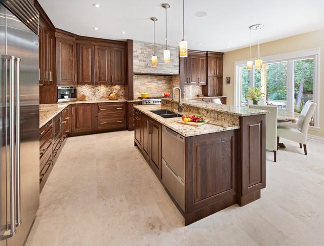Pennycross Kitchen traditional-kitchen