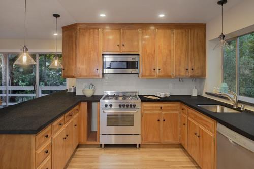 Warm, contemporary kitchen featuring PentalQuartz