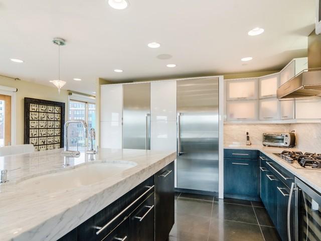 Penthouse - Boston contemporary-kitchen