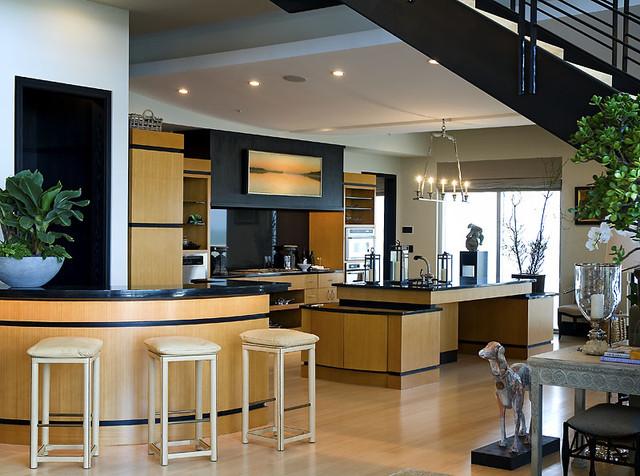 Penthouse Kitchen Contemporary Kitchen Other Metro