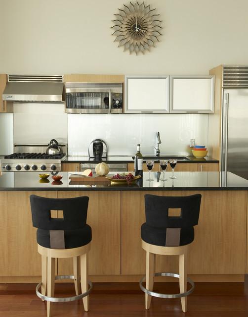 Penthouse Kitchen At Trump Lofts Modern Kitchen New York By Design Concepts Interiors Llc