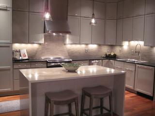 Penthouse Renovations Modern Kitchen New Orleans