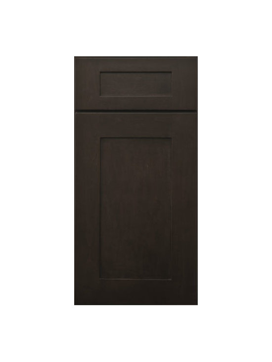 "PEPPER SHAKER / Assembled Kitchen Cabinets - Full Overlay Door Style - 3/4"" Solid Birch Face-Frame"