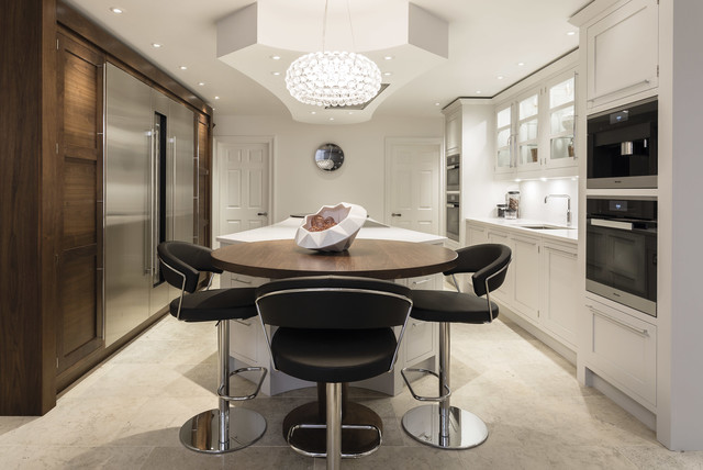 Perfect Kitchen For Entertaining Modern Kitchen Manchester By Tom Howley