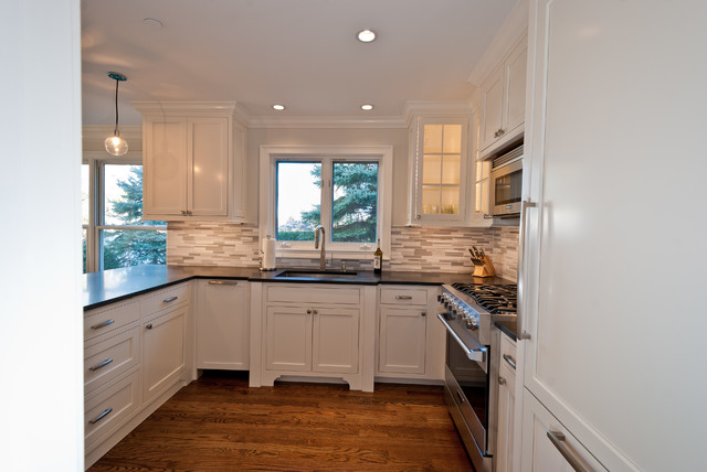 Perfect townhouse kitchen transitional kitchen new for Townhouse kitchen design