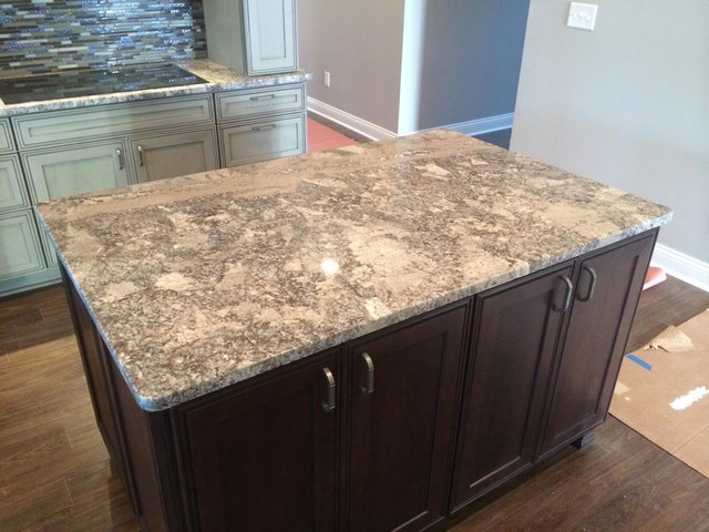 Pergamino Granite Contemporary Kitchen Indianapolis