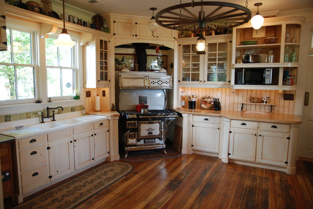 Period Cabinetry Historical Farmhouse Country Kitchen