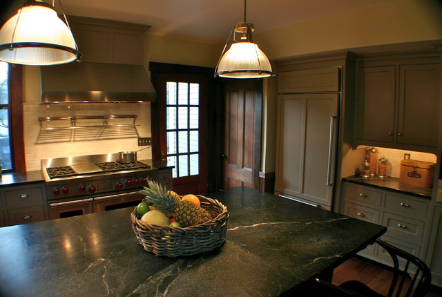 Period Charm in Yarmouthport, MA traditional-kitchen