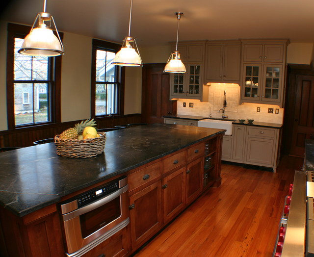 Period Charm in Yarmouthport, MA traditional kitchen