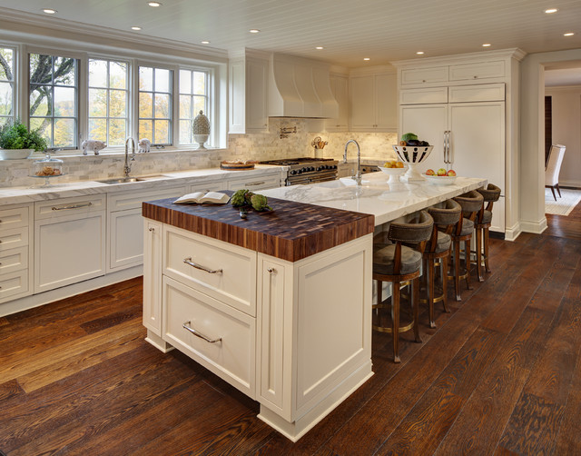 Period estate traditional kitchen cleveland by w for Period kitchen design