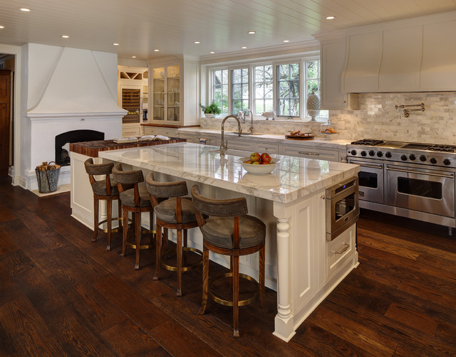 Period Estate Traditional Kitchen Cleveland By W