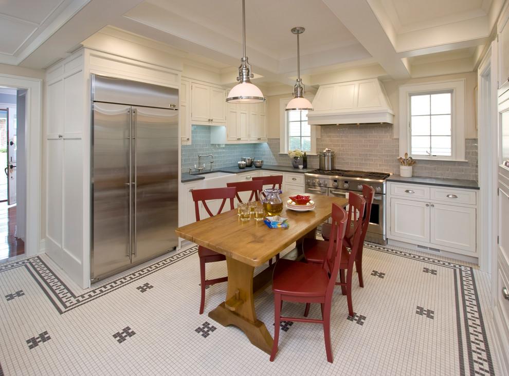 Period Kitchen Renovation In Historic Montrose Neighborhood South Orange Nj Traditional Kitchen New York By Clawson Architects Llc