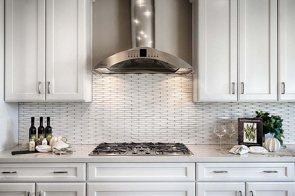 Perry Model Backsplash Inland Empire Contemporary Kitchen Denver By Richmond American Homes