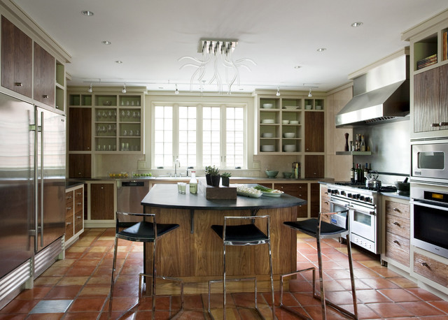 Persimmon modern kitchen