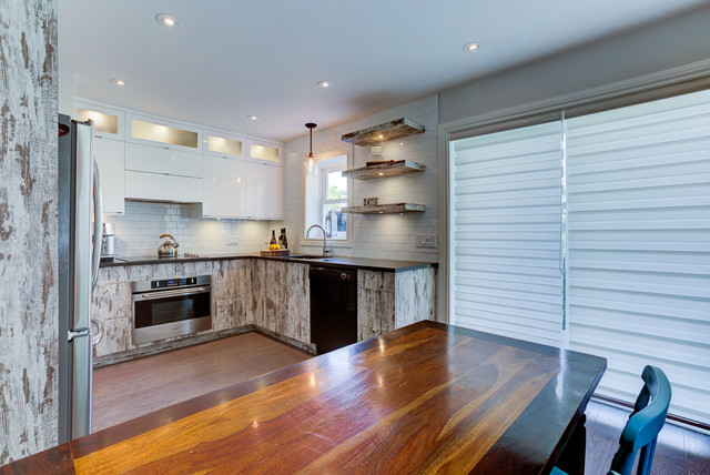 Petite Cuisine Rustique Chic Rustic Kitchen Montreal By