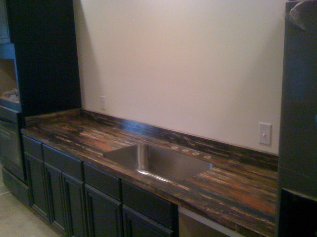 Petrified Wood Formica Laminatemodern Kitchen Chicago