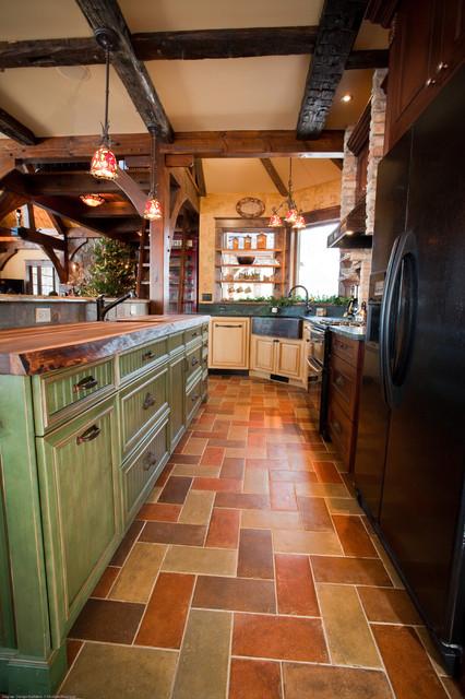Pewaukee Lake House eclectic-kitchen