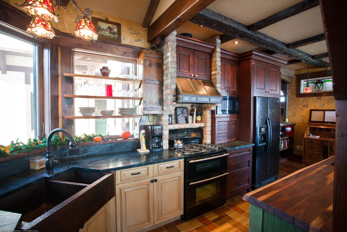 country cottage kitchen
