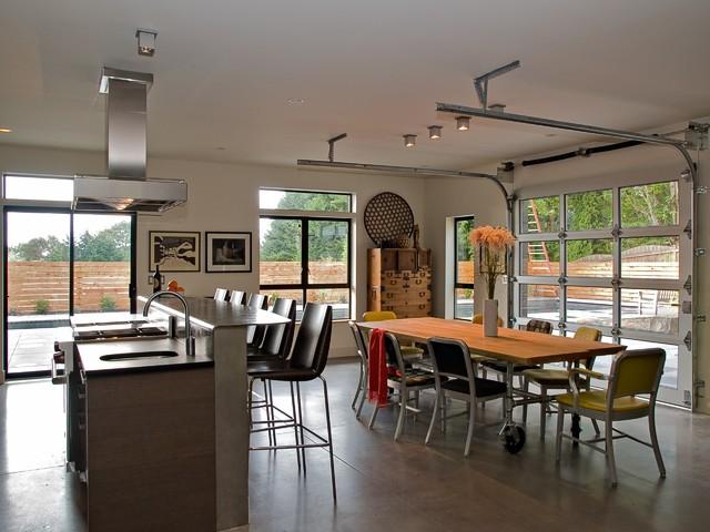 PH 1 kitchen and dining modern-kitchen