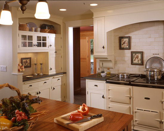 English Style Kitchen Aga Cooker Home Design Ideas Pictures Remodel And Decor