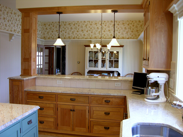 Phippsburg Kitchen Remodel traditional kitchen