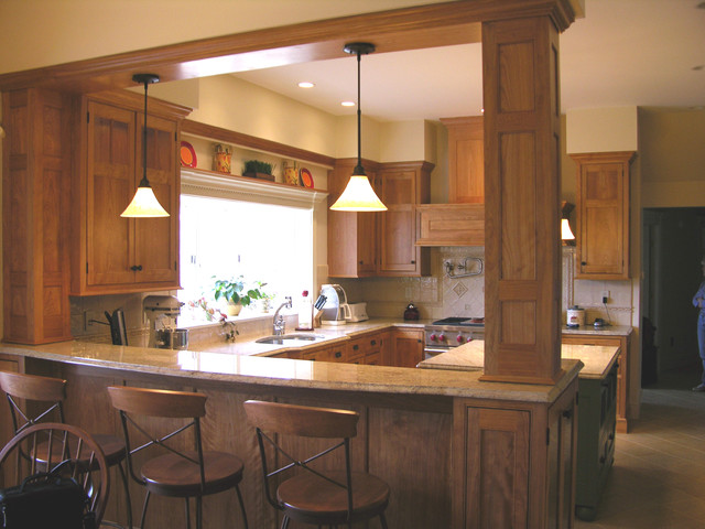 Phippsburg Kitchen Remodel traditional-kitchen