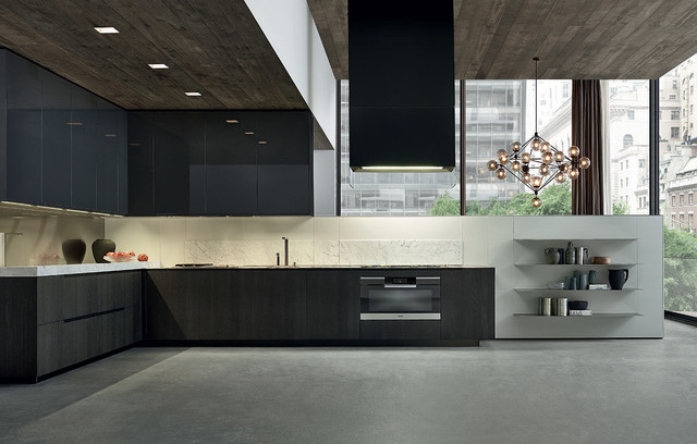 phoenix kitchen by varenna contemporain cuisine new york par poliform usa. Black Bedroom Furniture Sets. Home Design Ideas